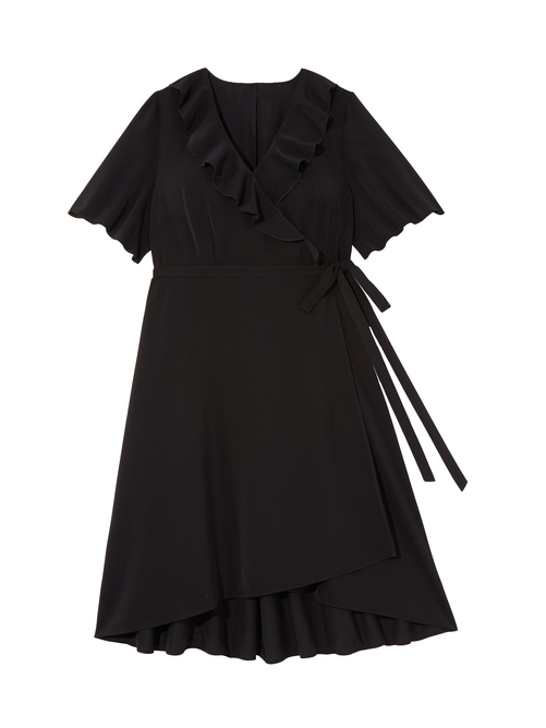 Promise Wrap Dress with Ruffle 2