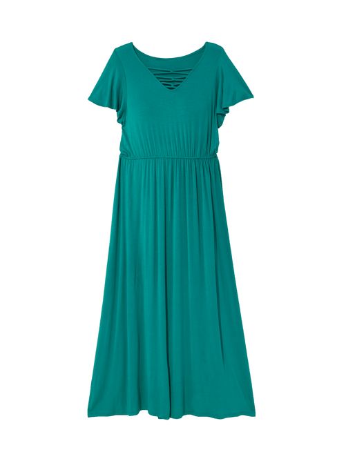 Nashville Lattice Maxi Dress