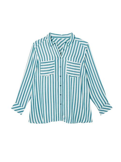 Mereen Striped Button Down Shirt
