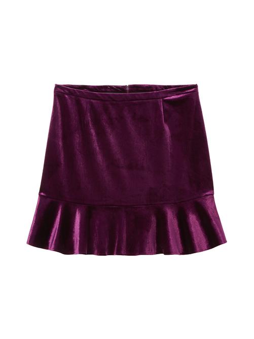 Veronica Velvet Skirt