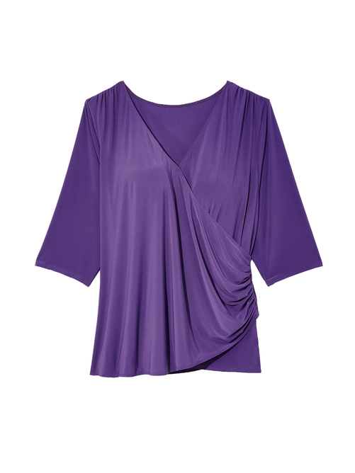 Pullover Wrap Top