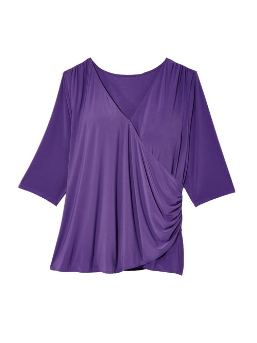 Pullover Wrap Top 2