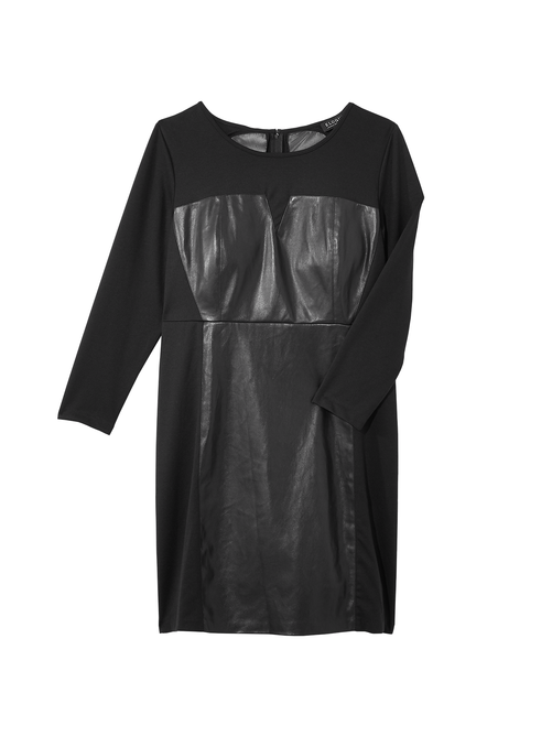 Destiny Faux Leather Dress 2