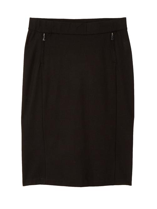 Caroline Ponte Pencil Skirt
