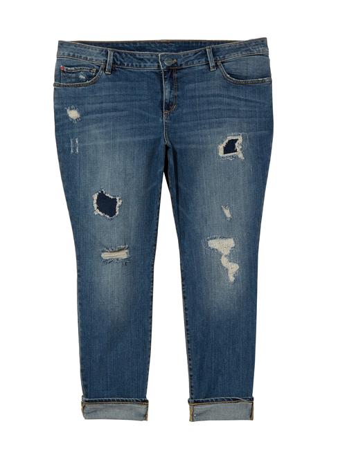 Aubriana Rip & Repair Skinny Jean