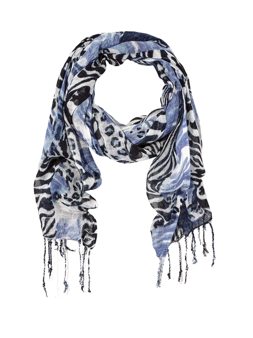 Casey Animal Print Scarf