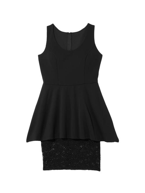 Sapphire Peplum Dress