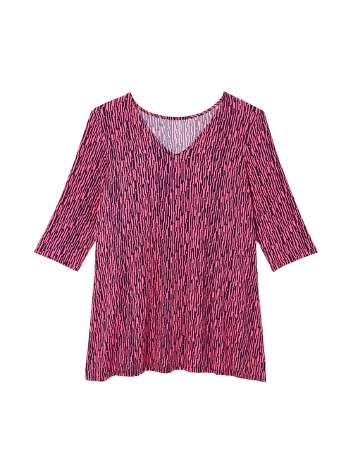 Lily Patterned Tunic