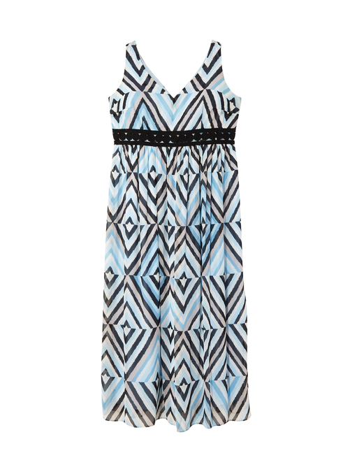 Terrin Blue Banded Maxi