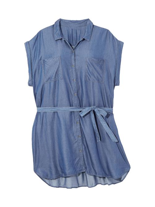 Tensley Chambray Dress 2
