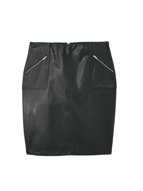 Lilith Faux Leather Skirt