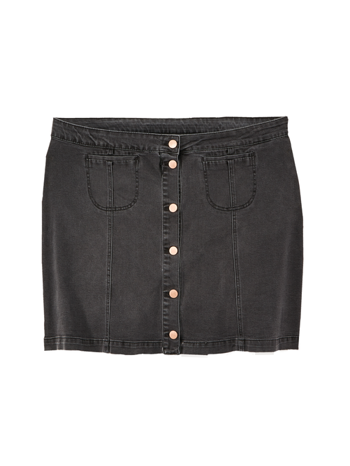 Montevideo Denim Skirt