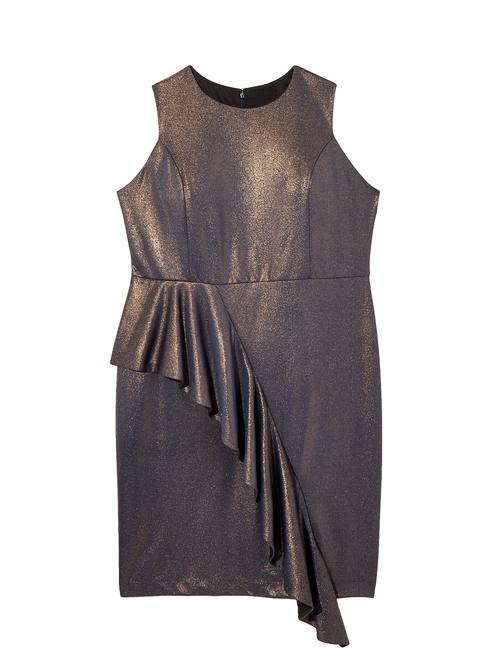 Waterbury Sleeveless Ruffle Dress