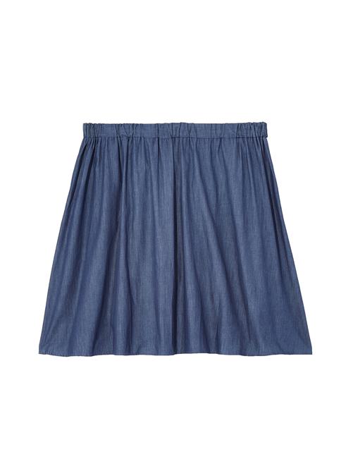 Hudson Button Chambray Skirt 1
