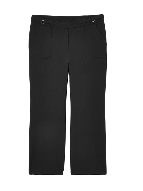 Bali Pull On Patch Pocket Wide Leg Pant