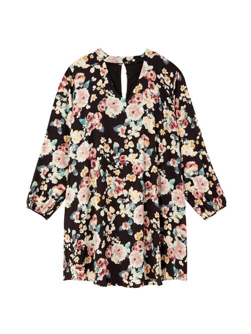 B. Curvy Kate Long Sleeve Dress - Black, Size 3X (22-24), Dia&Co