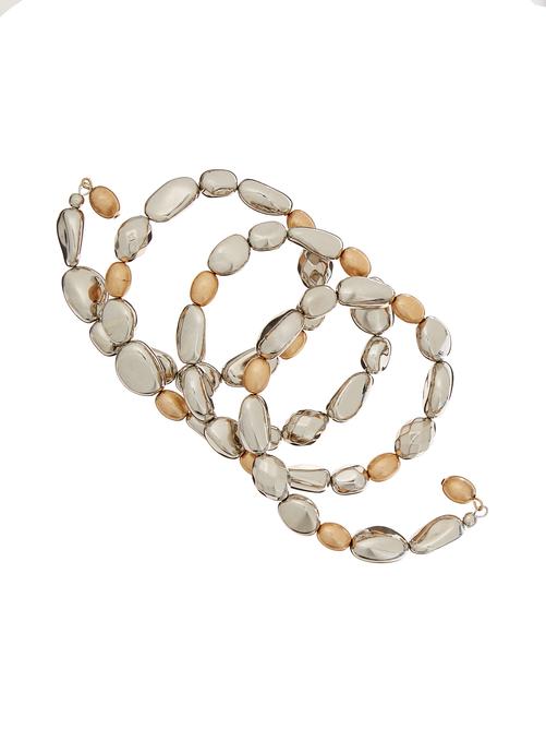 Avery Multi-Bead Coil Bracelet 1