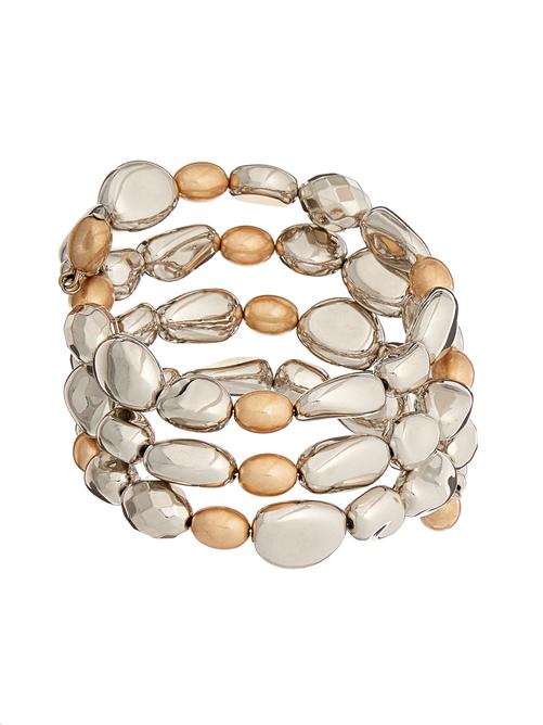 Avery Multi-Bead Coil Bracelet 0