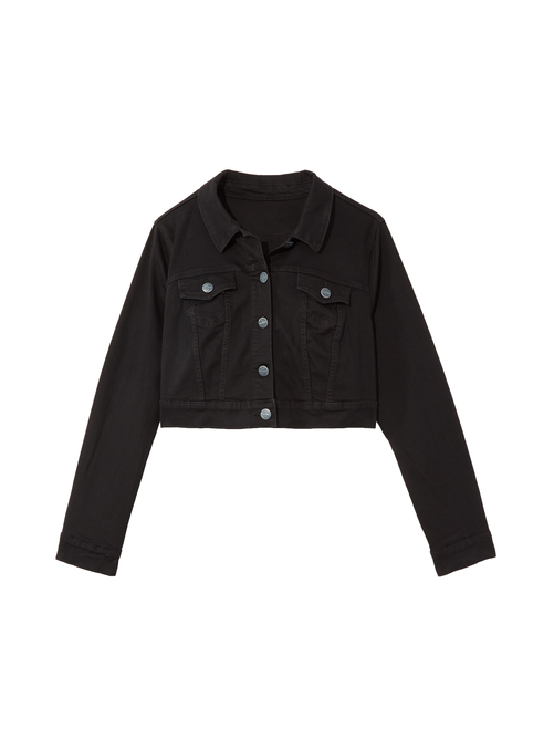 Emery Crop Twill Jacket 0