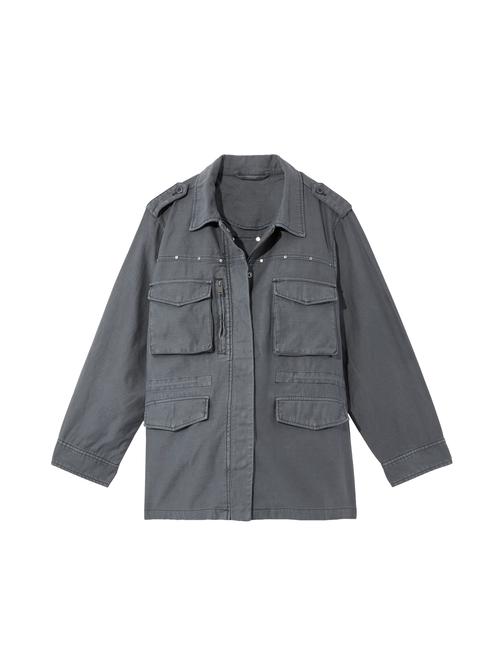 Anemone Studded Utility Jacket