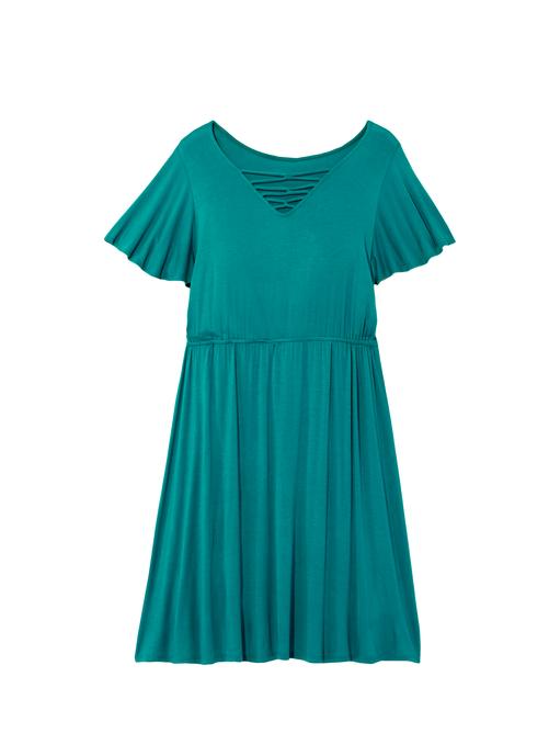 Nashville Lattice Neck Dress