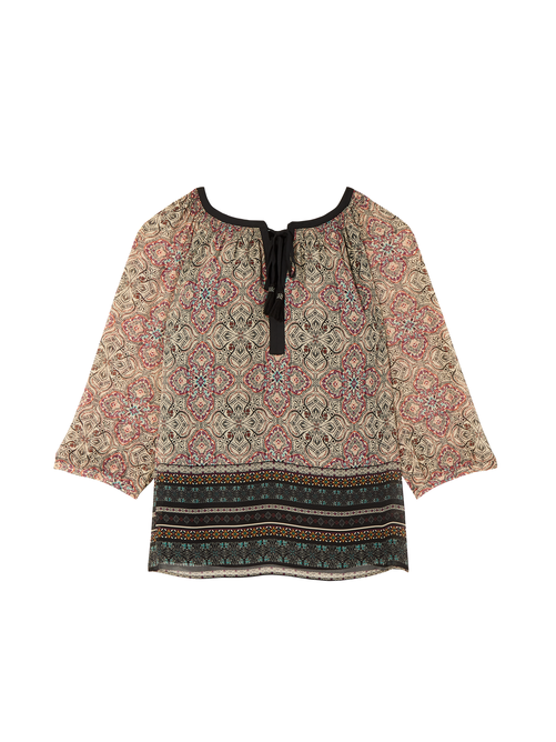 Cicely Tie-Neck Blouse