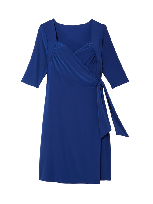 Chrystie Knit Wrap Dress
