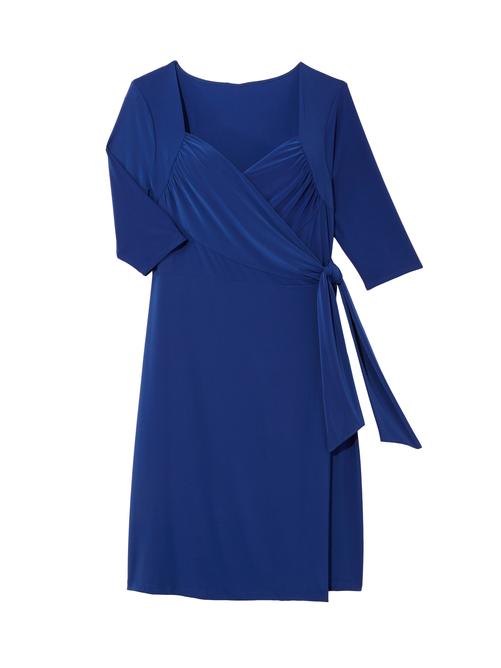 Chrystie Knit Wrap Dress 2