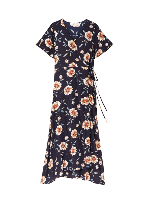 Aubrey Maxi Wrap Dress