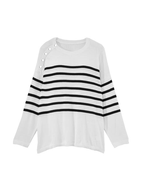 Debra Snap Detail Sweater