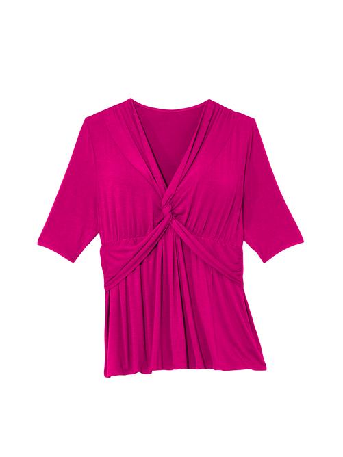 Knit Jersey Twist Top 2