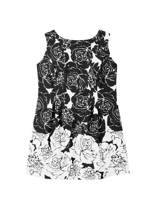 Leah Floral Scuba Dress