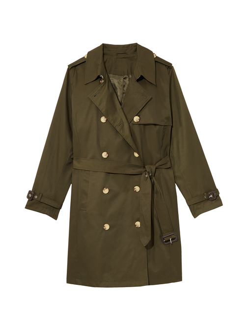 Sumac Double Breasted Trench Coat