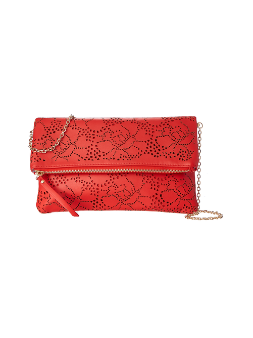 Carrie Perforated Clutch 1