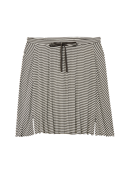 Fleur Drawstring A-line Skirt